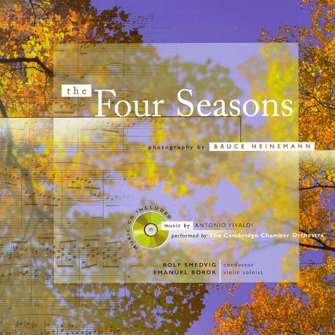 The Four Seasons (Book and Music, CD): Includes Music CD of Vivaldi's Four Seasons Recording