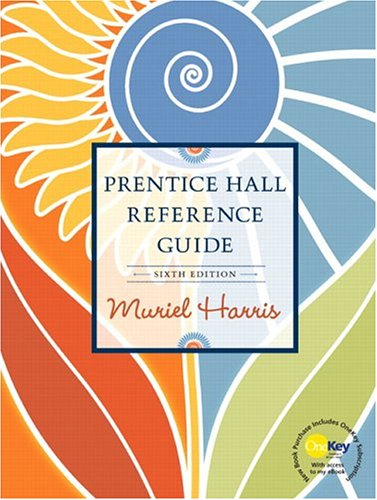 Prentice hall reference guide by muriel harris fandeluxe Images