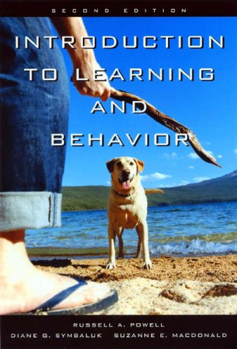 Introduction to Learning and Behavior by Suzanne E. MacDonald