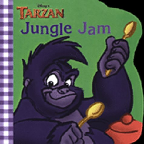 Disney's Tarzan Jungle Jam (Chunky Roly Poly Board Book)