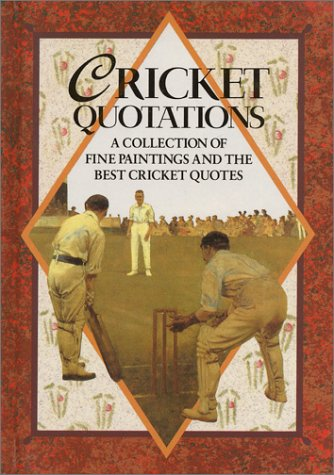 Cricket Quotations by Helen Exley