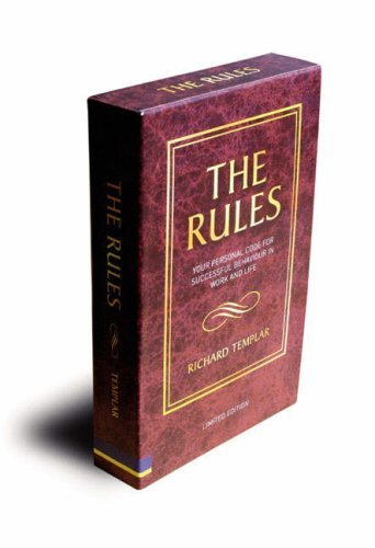 The Rules: A Personal Code For Living A Better, Happier, More Successful Kind Of Life: With Rules Of Work (Uk Versions) And Rules Of Life