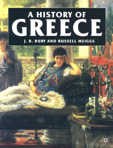 A History of Greece to the Death of Alexander the Great,