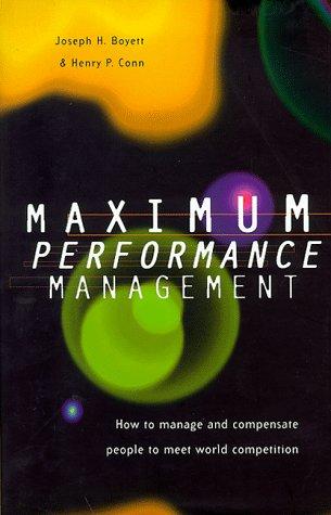 Maximum Performance Management