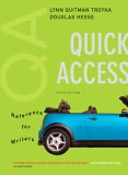 Quick Access, Reference for Writers