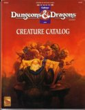 Creature Catalog (Dungeons and Dragons Accessory DMR2) by John Nephew