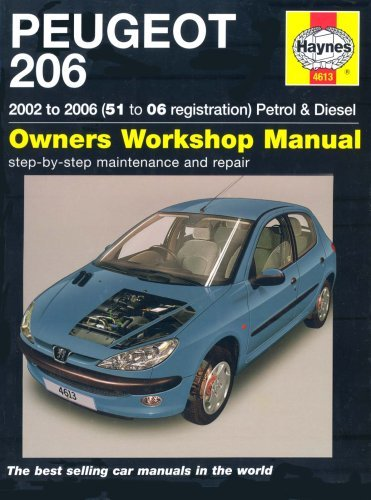 Peugeot 206 Petrol And Diesel Service And Repair Manual: 2002 To 2006
