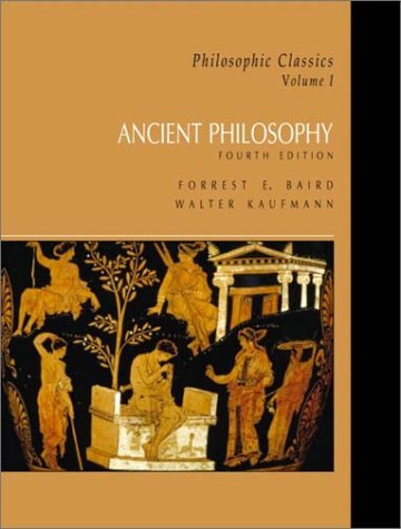 Ancient philosophy v 1 by forrest e baird fandeluxe Images