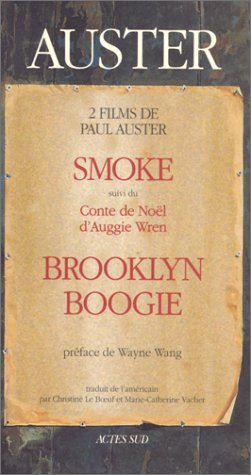 Smoke: (Suivi Du) Conte De Noël D'auggie Wren ; Brooklyn Boogie
