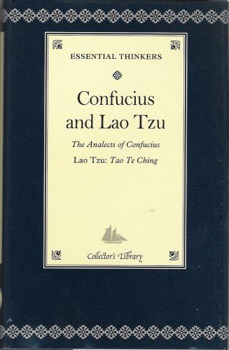 Confucius and Lao Tzu: The Analects of Confucius