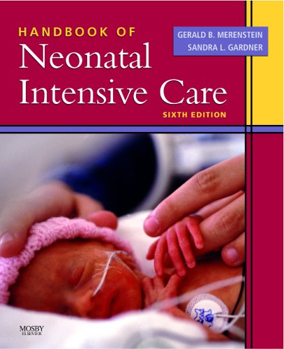 Handbook of Neonatal Intensive Care