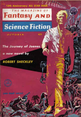The Magazine of Fantasy and Science Fiction, October 1962 (The Magazine of Fantasy & Science Fiction, #137)