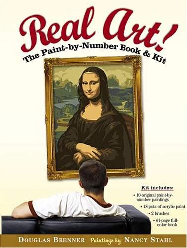 Real Art!: The Paint by Number Book & Kit