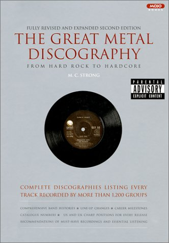 discography for books