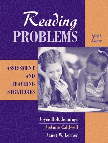 Reading Problems by Joyce H. Jennings