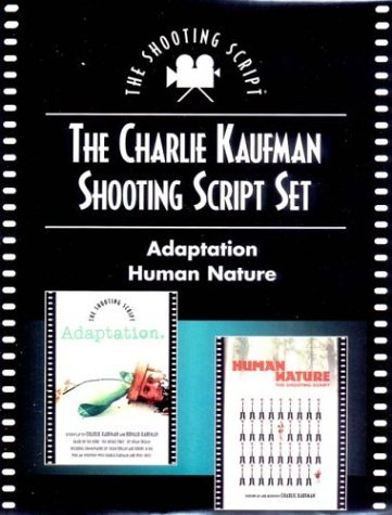 Charlie Kaufman Shooting Script Set: Adaptation and Human Nature