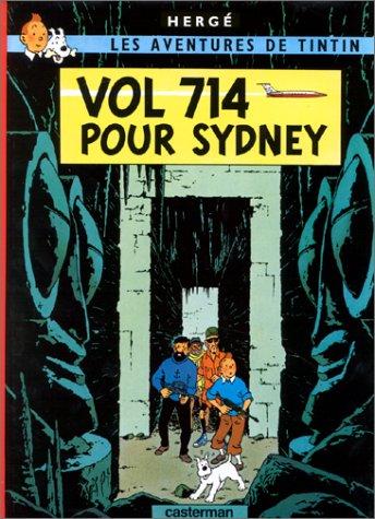 Vol 714 pour Sydney by Hergé