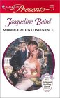 Marriage at His Convenience by Jacqueline Baird