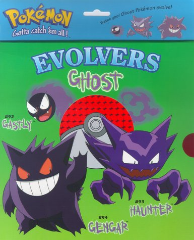 Ghost Pokemon: Gastly, Haunter, Gengar