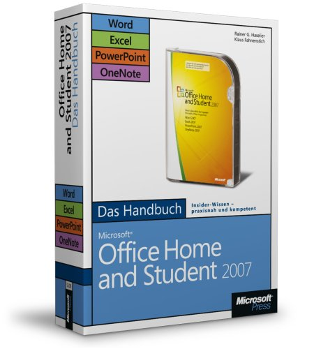 Microsoft Office Home And Student 2007   Das Handbuch: Word, Excel, Power Point, One Note