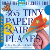 365 Tiny Paper Airplanes Page-A-Day Calendar 2008