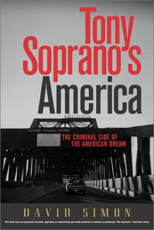 Tony Soprano's America by David R. Simon