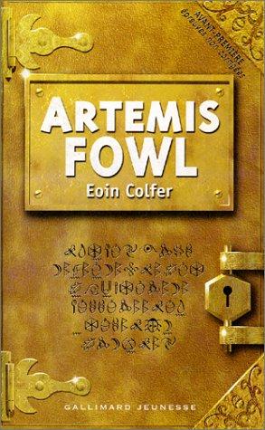 artemis fowl 1st book review