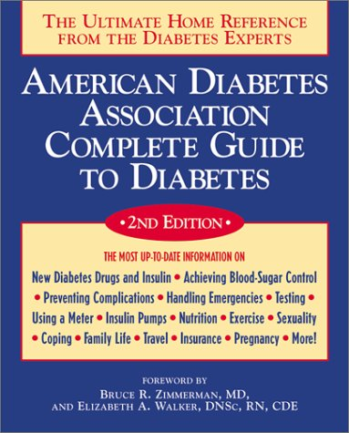 American Diabetes Association Complete Guide To Diabetes by American Diabetes Association