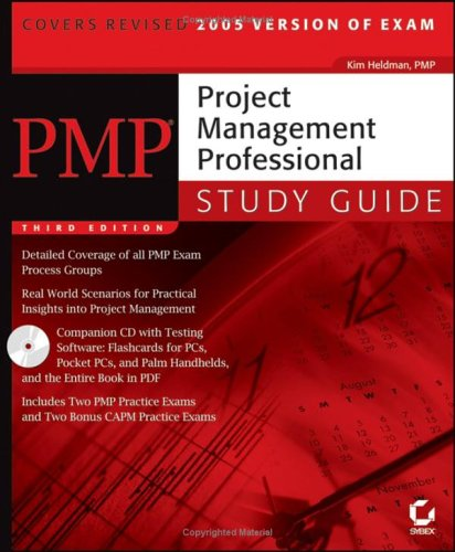 pmp project management professional study guide by kim heldman rh goodreads com project management professional study guide project management professional study guide 5th edition
