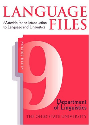 Language files materials for an introduction to language and language files materials for an introduction to language and linguistics by ohio state university fandeluxe Choice Image