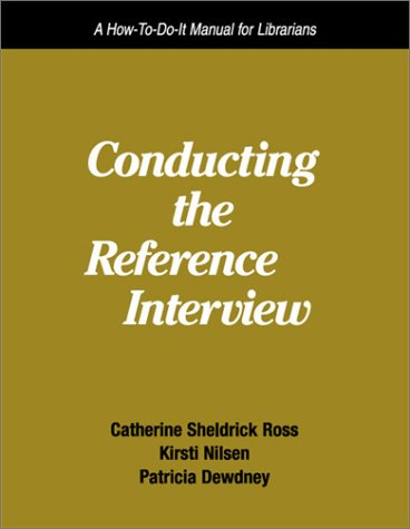 Conducting Reference Interview by Barbara L. Stein