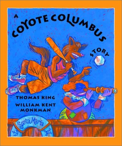 coyote in native mythology thomas king s In the national bestseller green grass, running water, canadian author thomas king deals with  as a troublesome figment of the native trickster coyote's.