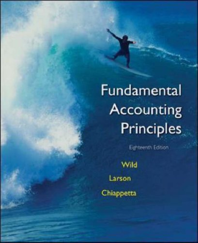 Fundamental accounting principles by john j wild fandeluxe Choice Image