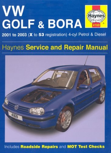 Vw Golf And Bora 4 Cyl Petrol And Diesel Service And Repair Manual: 2001 2003