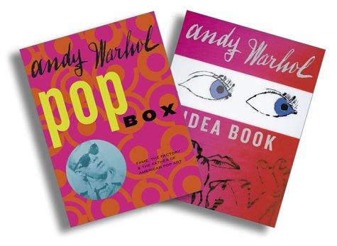 Andy Warhol Book and Box Set: Andy Warhol Pop Box, Andy Warhol Idea Book