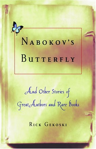 Nabokov's Butterfly by Rick Gekoski