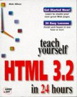 Teach Yourself HTML in 24 Hours
