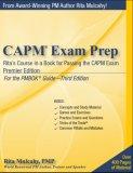 CAPM Exam Prep: Rita's Course in a Book for Passing the CAPM Exam