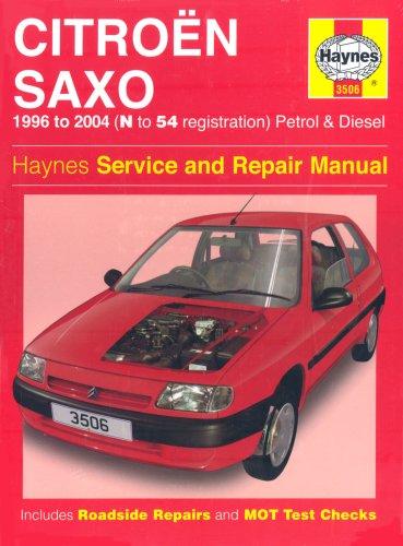 Citroen Saxo Petrol And Diesel Service And Repair Manual: 1996 To 2004