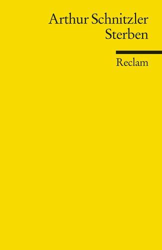Sterben by Arthur Schnitzler