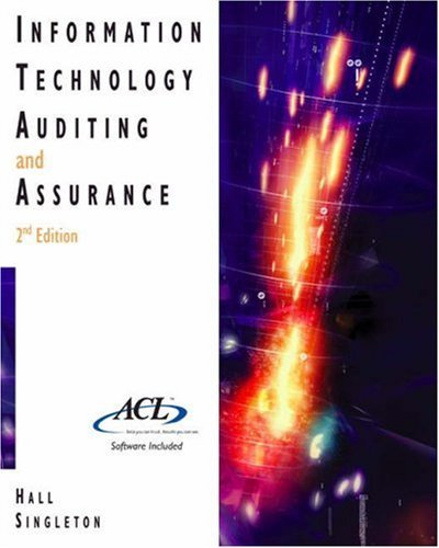 Information Technology Auditing and Assurance [With CDROM]