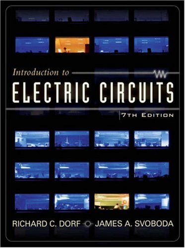 introduction to electric circuits by richard c dorfintroduction to electric circuits