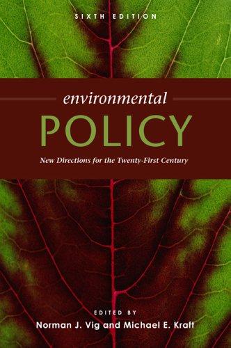 Environmental Policy by Michael E. Kraft