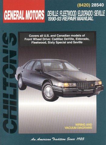 GM Deville/Fleetwood/Eldorado/Seville 1990-93