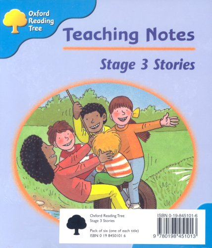 Oxford Reading Tree: Stage 3: Storybooks [Pack Of 6 Books, 1 Of Each Title]