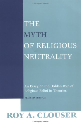 the myth of religious neutrality an essay on the hidden role of  1087792