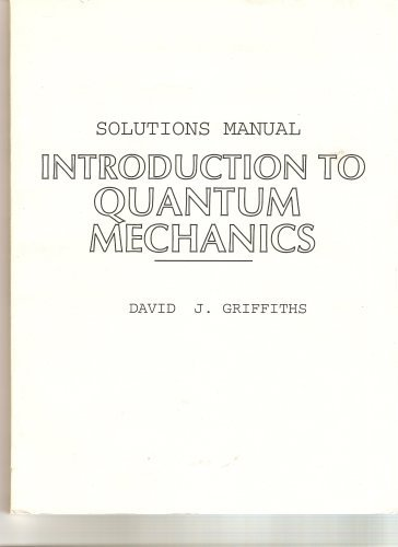 Solutions Manual For Introduction To Quantum Mechanics