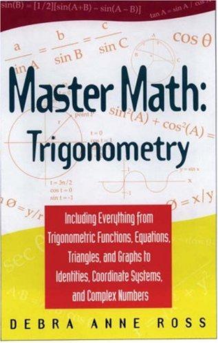 Master Math Trigonometry MOBI FB2 por Debra Anne Ross