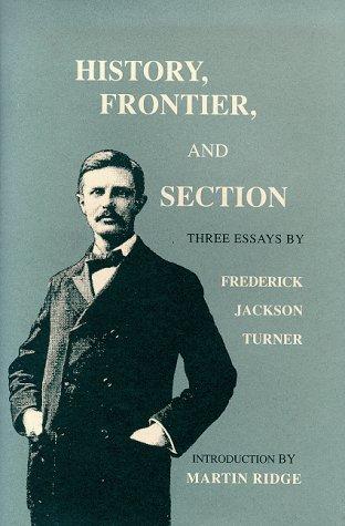 frederick jackson turner essay summary