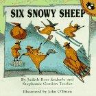 Six Snowy Sheep